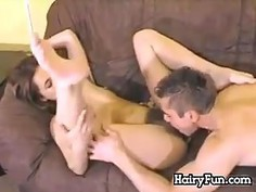 Hairy Teen Being Licked And Fucked