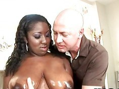 Luxury Amore show her great knockers