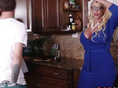Alura Jensen 3some with Dolly Leigh and boyfriend