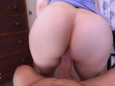 Big booty mom sucks dick and rides it with pleasure