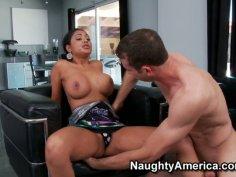 Hot indian slut Priya Anjali Rai gives a blowjob and titjob