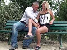 Czech public banging