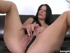 Klaudia Hot in First Facial On Cam!