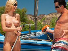 Anal Car Wash Angels Scene 1