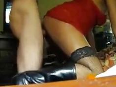 Real arab milf getting a good pussy drilling