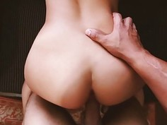 Devyn Heart rides step bros thick cock