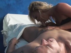 Our hidden spy cameras caught Ally the massage therapist giving more than a massage!