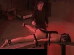 Chained Caned Whipped With Electroplay