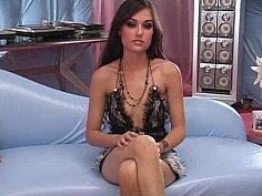Young cute Pornstar Sasha Grey in Interracial