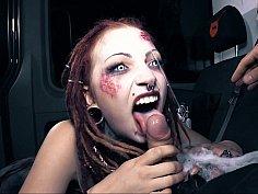 Halloween bus